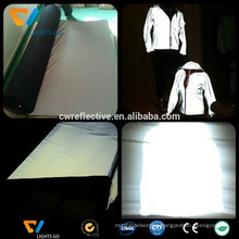EN471 luminous glow in the dark reflective jacket fabric
