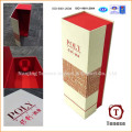 Fabricante dobrável Gift Paper Wine Box