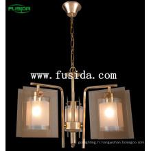 Lustre de plafond moderne design moderne en cristal, lampe pendante