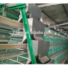 Multilayer Käfig aus Stahl für Hühnerstall