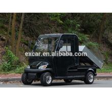 véhicule utilitaire, 2016 nouveau chariot électrique avec cabine, chariot de golf électrique avec une cargaison fonctionnelle