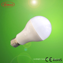 Plastic and Aluminum 3W E27 LED Bulb