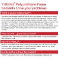 Made in China Deutschland DIN4102 Standard Nein CFC Polyurethan Klebstoff Schaum Spray Polyurethan Kleber Sealant