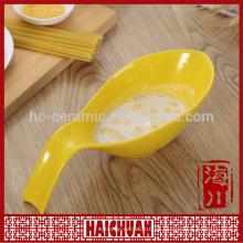 Juegos de utensilios de cocina de cerámica, Cuarto de galletas de hornear con tapa de cristal