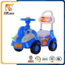 Nouvelle mode populaire enfants balançoire voiture avec grand panier en gros