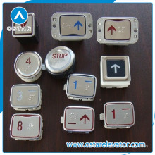 Boutons poussoirs ronds, carrés, ovales, pièces d'ascenseur (OS43)