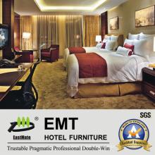 Juego de muebles de lujo del dormitorio del hotel (EMT-B1205)