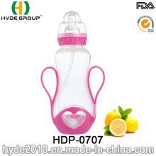 Botella de agua de alimentación de leche PP de plástico de bebé (HDP-0707)