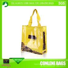 Wiederverwendbare Einkaufstasche aus PVC (KLY-PVC-0015)