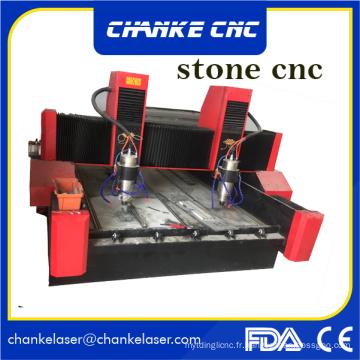 Stone Marble Granite Machine à gravure sur routeur CNC