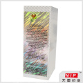 Пользовательские Косметическая упаковка коробки с логотипом голограмма