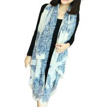 Fashion Printing Summer Spring Écharpe en polyester bon marché