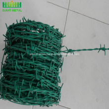 Low Price PVC Coated Barbed Wire Fence Design