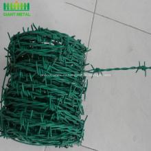 Низкая цена колючая проволока Покрынная PVC Загородка конструкции