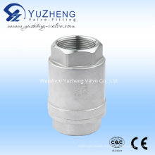 Stainless Steel Threaded Vertical Check Valve