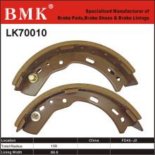 Patins de frein de chariot élévateur respectueux de l'environnement (LK70010)