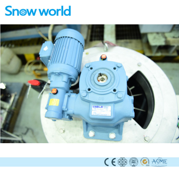 Snow World Flake Ice Evporator Materiales de acero inoxidable