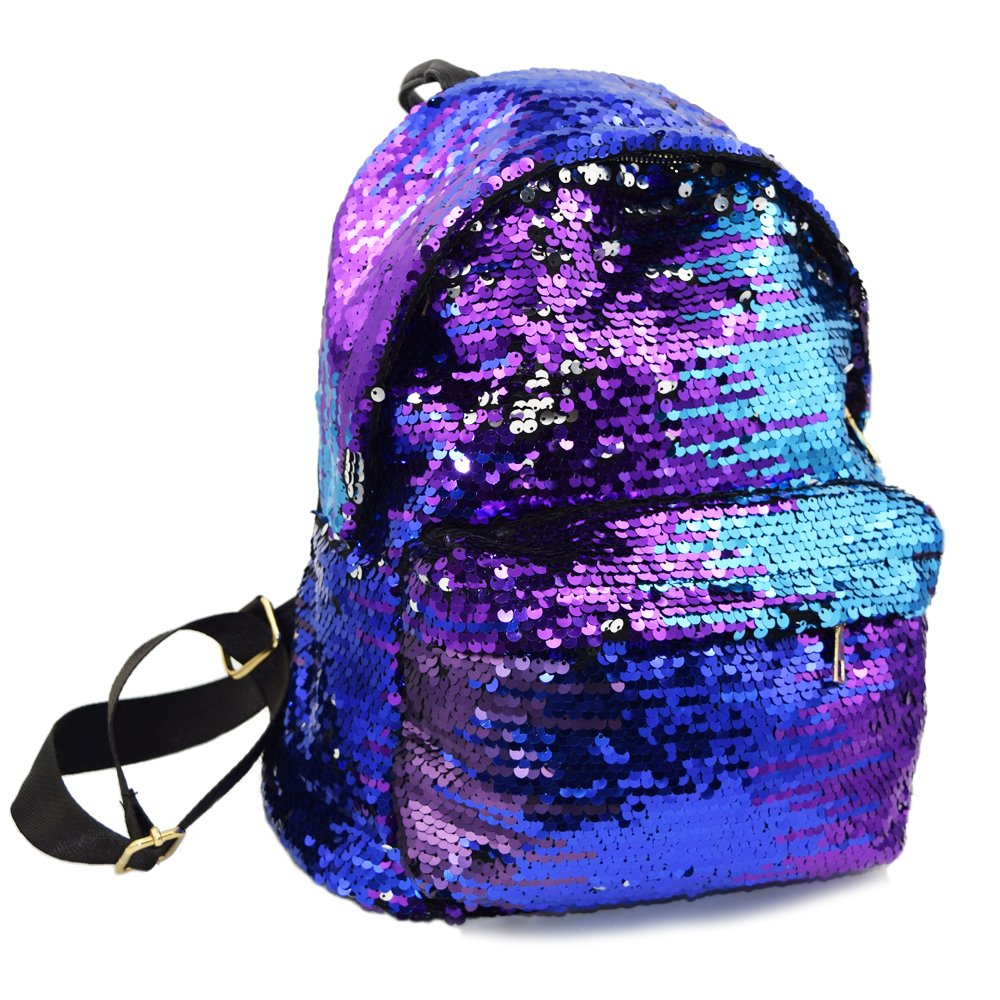 Sequin Backpack 2