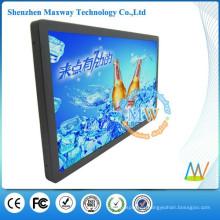bus de señalización digital LCD de 21,5 pulgadas de la red WiFi o 3G ayuda