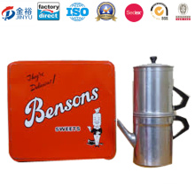Luxury Butter Coffees and Cookies Tin Box