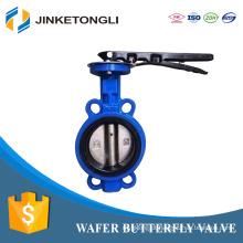 fabricante china JKTL petróleo ferro fundido betts válvula de borboleta