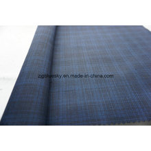Wool Fabric Check Satin Weave