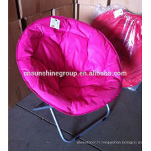 Round back chair,foldable adult moon chair and kids moon chair