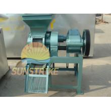 Máquina vendedora caliente de la briqueta del carbón de leña de la pequeña capacidad