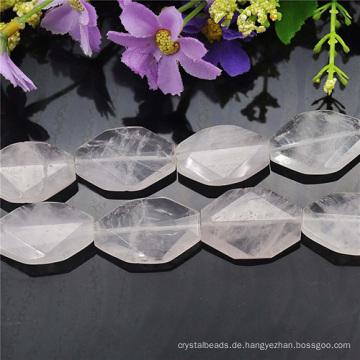 30MM großen natürlichen Stein Halskette entwirft Perlen