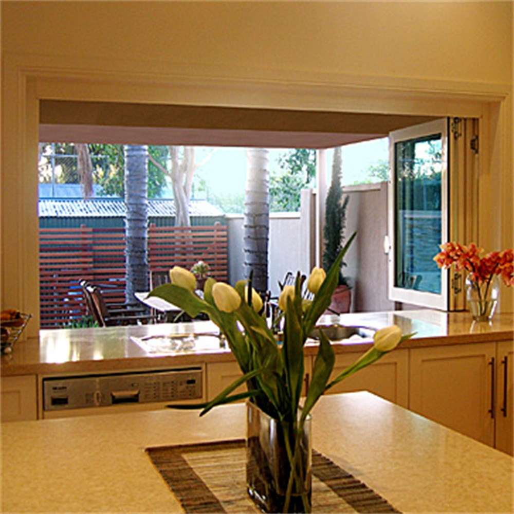 Aluminum Clear Glass Display Window