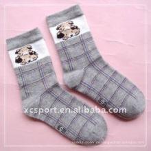 Baumwollstreifen gestrickte Kinder Socken