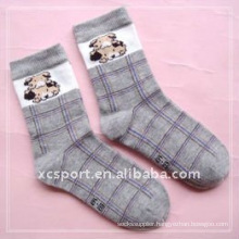cotton strip knitted children socks