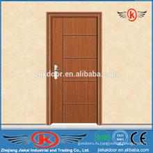 JK-P9046 высококачественная деревянная дверь из ПВХ