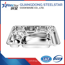 Kitchen item food containers stainless steel rectangular tray