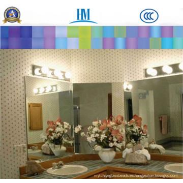 Espejo de aluminio / Cuarto de baño / Muebles / Espejo de plata claro / Espejo de cobre libre de plata