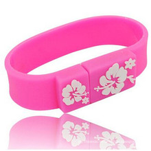 Elastic Silicon Wristband USB Flash Disk