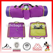 Sac léger de sac de yoga de sac de sac écologique pour transporter le sac à dos se pliant d'Essentials