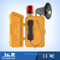 Emergency Telephone, Weatherproof Telephone with Horn