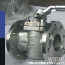 A216 Wcb Cast Steel Plug Valve with Manual Operatation