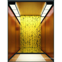 Ascenseur de passager classique pour un hôtel de haut niveau