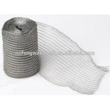 Mesh en tricot en acier inoxydable