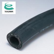 Mangueira de vapor de borracha trançada STW. Fabricado pela Togawa Rubber. Feito no Japão (mangueira flexível de conexão de flange)
