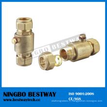 Clapet anti-retour laiton Ningbo Bestway avec crépine (BW-C12)