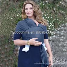 Le plus nouveau porte-bébé Sling Wrap 100% porte-bébé en coton transporteur fronde nouveau-nés
