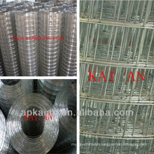 hebei anping kaian 1/4 inch electric or hot dip galvanized welded wire mesh