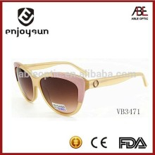 2015 women fashionable Italian brand sunglasses with CE & FDA