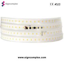 China New IP65 2835 PU Glue Potted Custom LED Strip