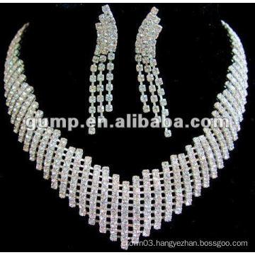 Latest bridal wedding jewelry set (GWJ12-443)