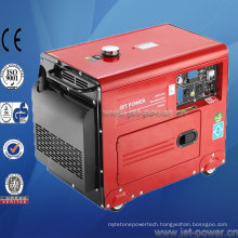 Air Cooled Portable Silent Diesel 5000 Watt Electric Generator