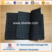 HDPE Tri-Dimension Composite Geonet Fabrinet Geokomposit für Drainage